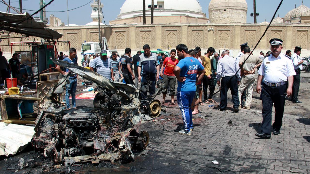 Zeker achttien doden bij aanslag op uitvaart in Bagdad ... Aandslag Nederland 2017