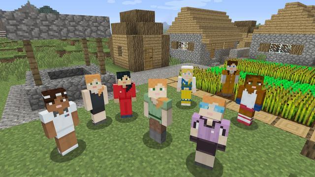 Minecraft krijgt winkel voor content gemaakt door derden