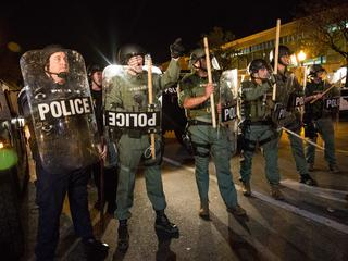 Protesten VS
