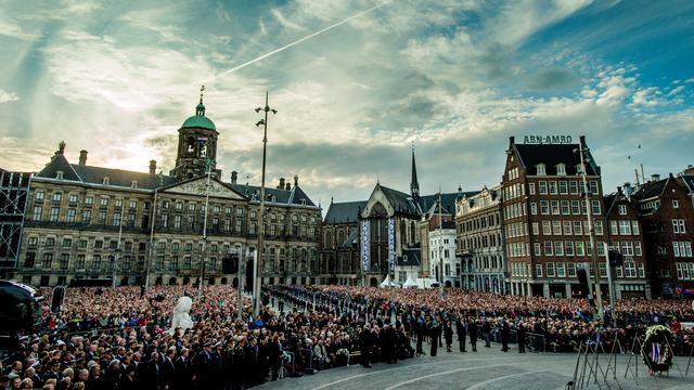 Delen binnenstad Amsterdam afgesloten voor verkeer door Dodenherdenking   NU   Het laatste