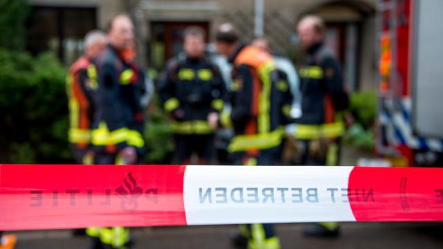 Ontruimingen na woningbrand Friesestraatweg