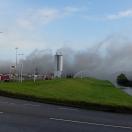 Luchtalarm in Kampen om rook door afvalbrand