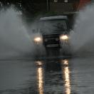 Wateroverlast in regio Rotterdam door storm