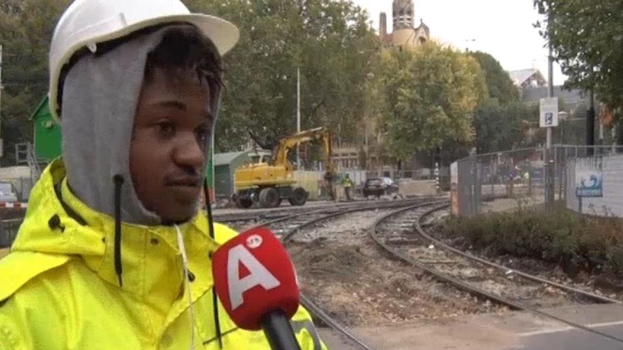Amsterdam druk door werkzaamheden
