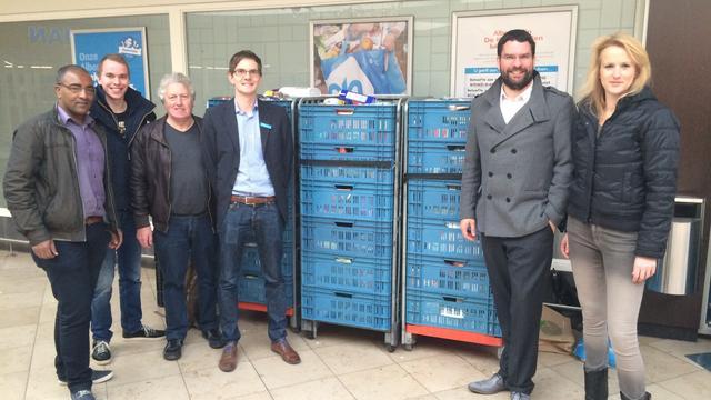 Voedselbank Leiden houdt Paasinzameling
