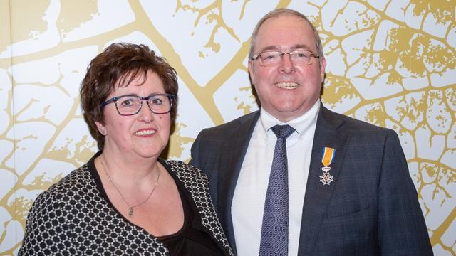 Koninklijke onderscheiding voor Guido Koenen
