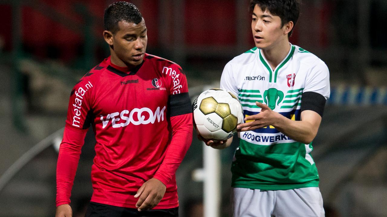 Bekijk de samenvatting van FC Dordrecht-Helmond Sport