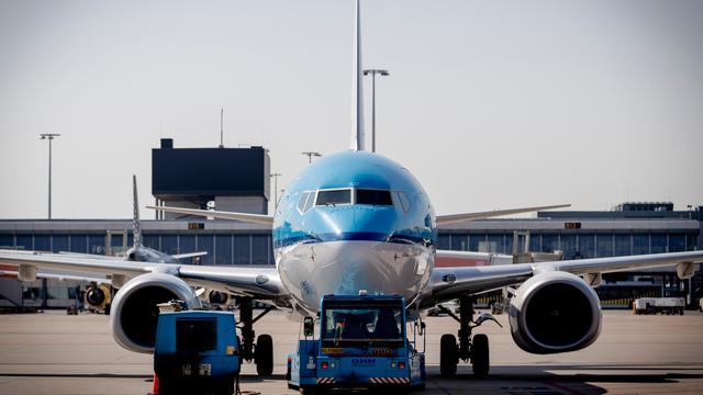 KLM zegt weinig te merken van acties cabinepersoneel