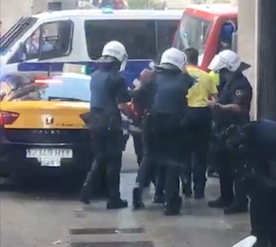 Politie pakt verdachte op van aanslag Barcelona