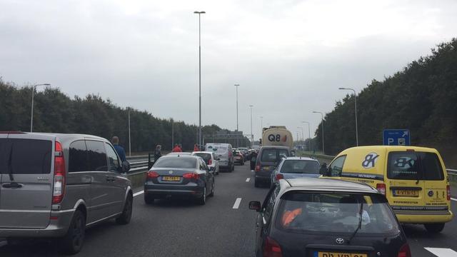 Verkeershinder op A73 tussen Nijmegen en Venlo door ongelukken