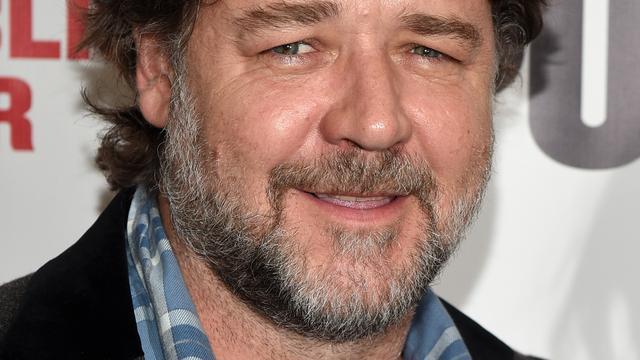Russell Crowe valt 24 kilo af in 7 maanden