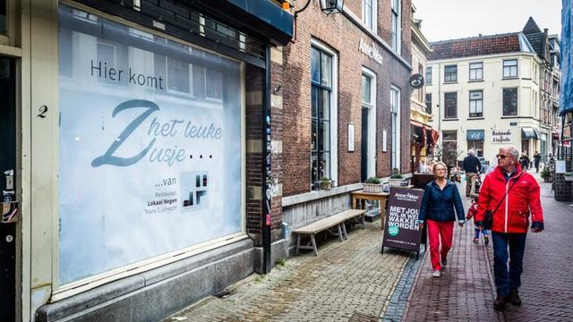 Café Het Leuke Zusje op het Wed na 1,5 jaar nog steeds dicht