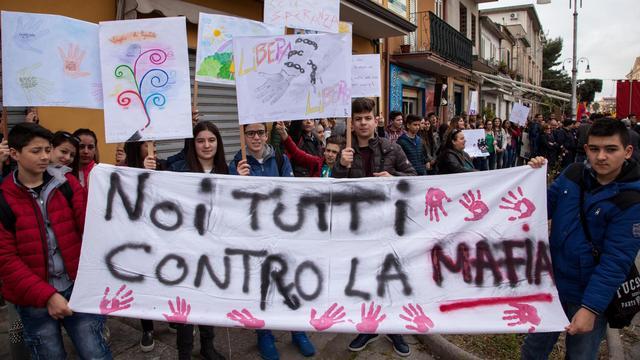 Honderdduizenden Italianen protesteren tegen maffia