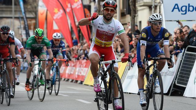 Bouhanni wint ook tweede etappe Ronde van Catalonië in massasprint