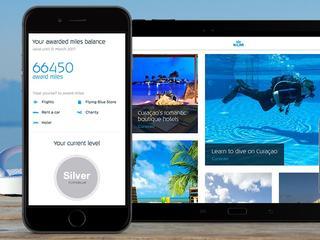 Gebruikers kunnen ook inchecken en boardingpasses downloaden