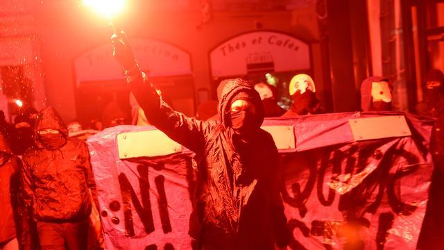 Tientallen aanhoudingen bij protesten na Franse verkiezing