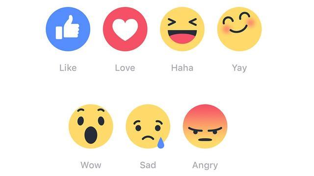 Facebook-gebruikers kunnen met emoji reageren op reacties