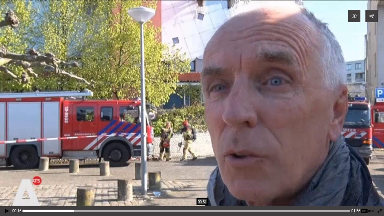 Geschrokken reacties na brand kinderdagverblijf Entrepothof