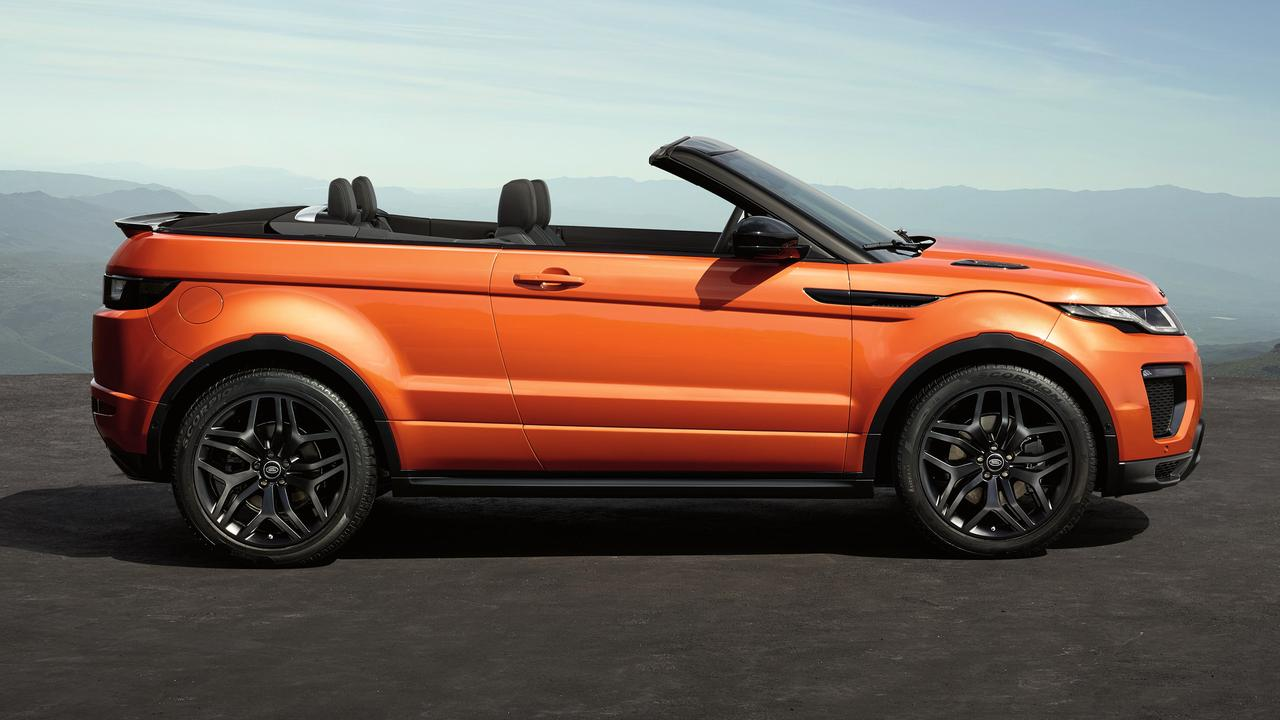 range rover evoque convertible stevig geprijsd nu het. Black Bedroom Furniture Sets. Home Design Ideas