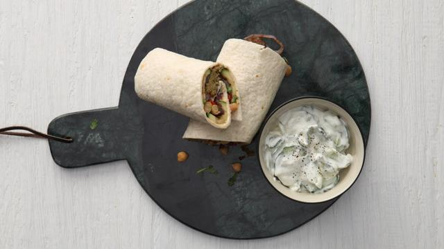 Recept van de dag: vegetarische wraps