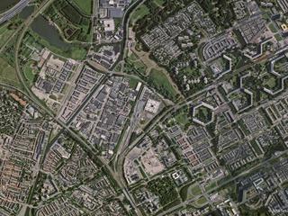 Satelliettak heeft zeven geavanceerde foto-satellieten