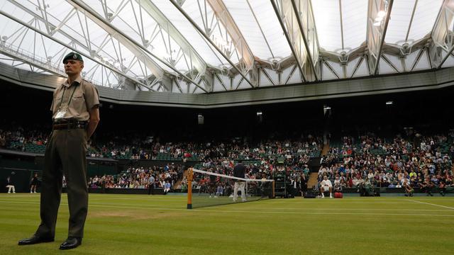Verdacht gokgedrag bij partij op Wimbledon