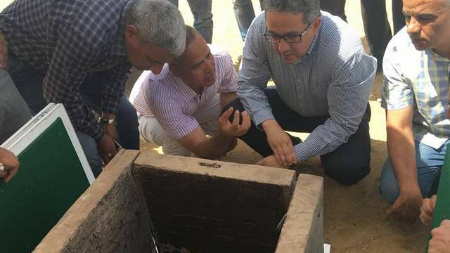 Egyptische archeologen ontdekken grafkamer van farao's dochter