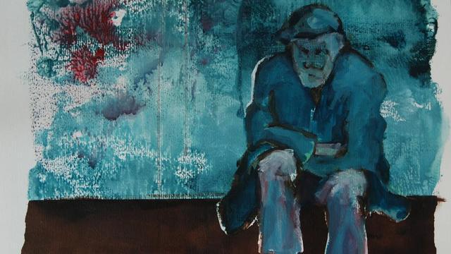 Kunst over dichter Bloem te zien in theater Castellum