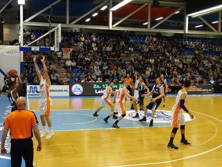 ZZ Leiden Basketball wint ook tweede thuiswedstrijd