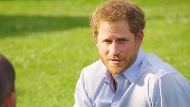 Prins Harry sprak jarenlang niet over dood prinses Diana
