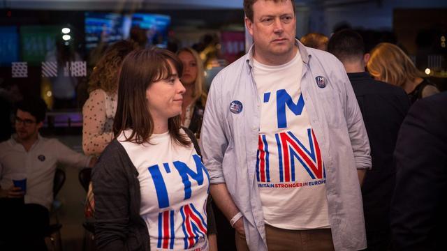 In beeld: Britten stemmen vóór vertrek uit Europese Unie