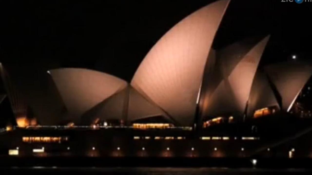 Sydney Opera House doet lichten uit voor Earth Hour