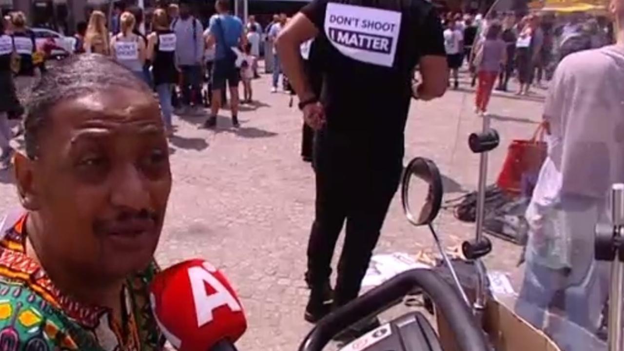 'Politiegeweld tegen donkere mensen gebeurt hier ook'