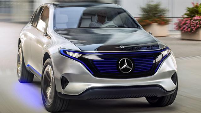 Mercedes Generation EQ officieel