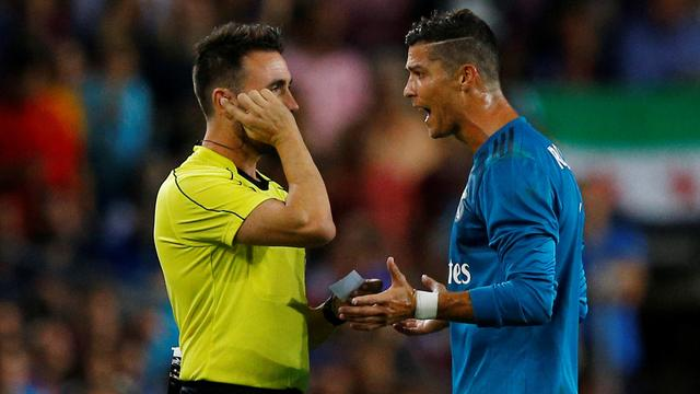 Real ondanks rood Ronaldo dicht bij Spaanse Super Cup, winst Lazio