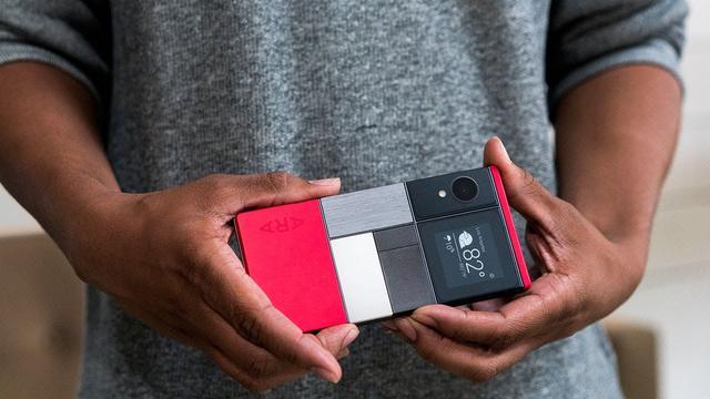 'Google schrapt modulaire smartphone'