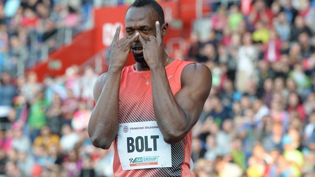 Bolt wint op overtuigende wijze 100 meter in Ostrava