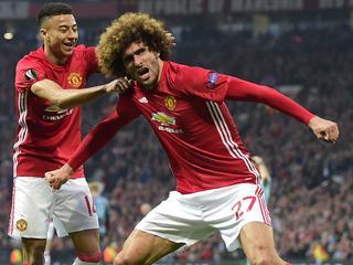 Engelsen spelen op Old Trafford met 1-1 gelijk