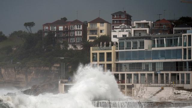 Sydney getroffen door zeldzame tornado