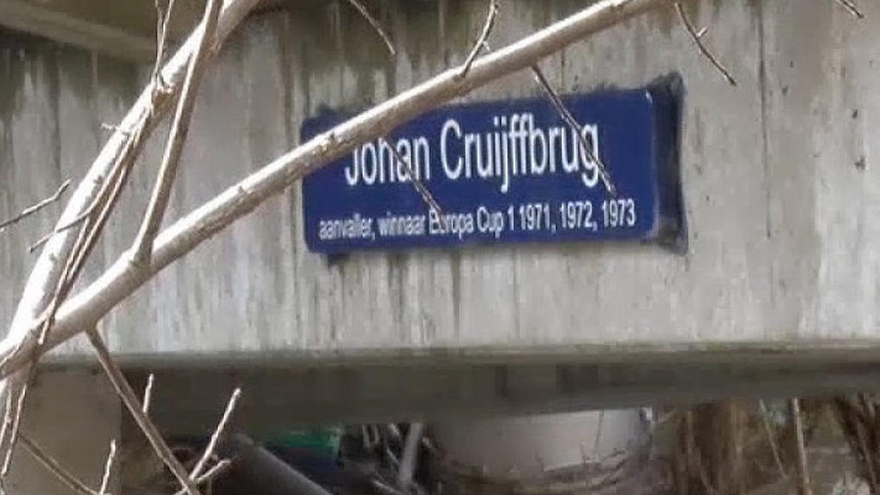 Amsterdammers hebben nog nooit van Johan Cruijffbrug gehoord