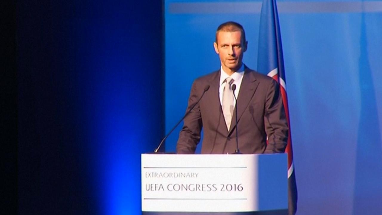 Sloveense Ceferin gekozen als nieuwe voorzitter UEFA