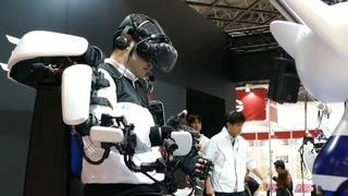 Nieuwste robottechnologie getoond op beurs in Tokio