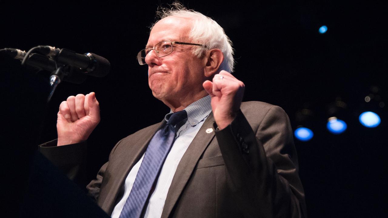 Sanders benadrukt door te gaan tot einde van voorverkiezingen