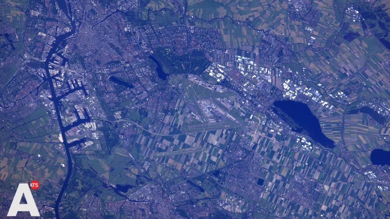 Kuipers tevreden over ruimtefoto's Amsterdam