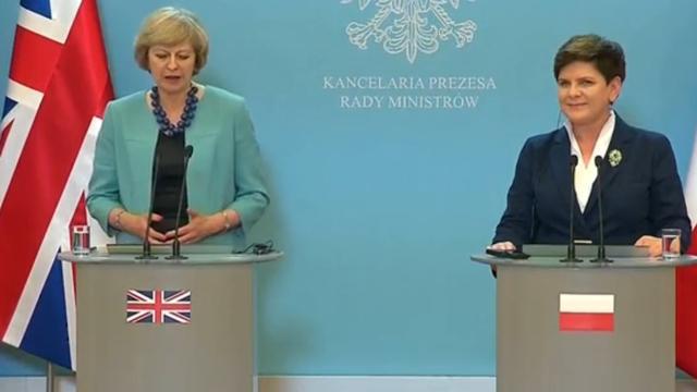 Polen en Groot-Brittannië blijven samenwerken na Brexit