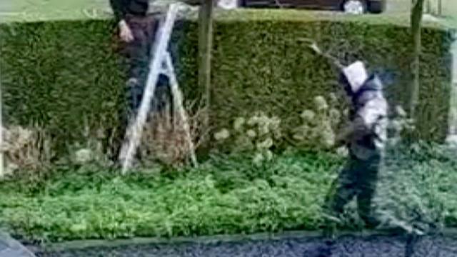 Politie geeft beelden vrij van poging overval woning Oger Lusink