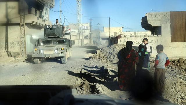 'Herovering Mosul verloopt niet eenvoudig'