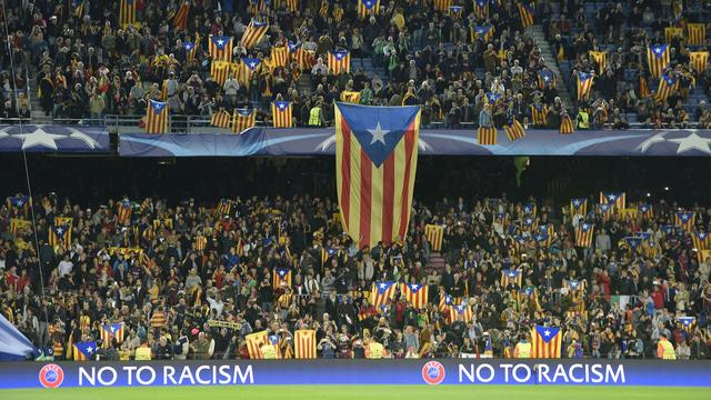 Barcelona naar CAS wegens boete om leuzen voor onafhankelijkheid