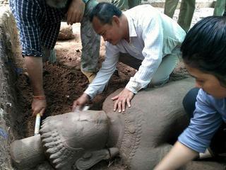 Onderzoekers Angkor Wat hopen meer beelden te vinden