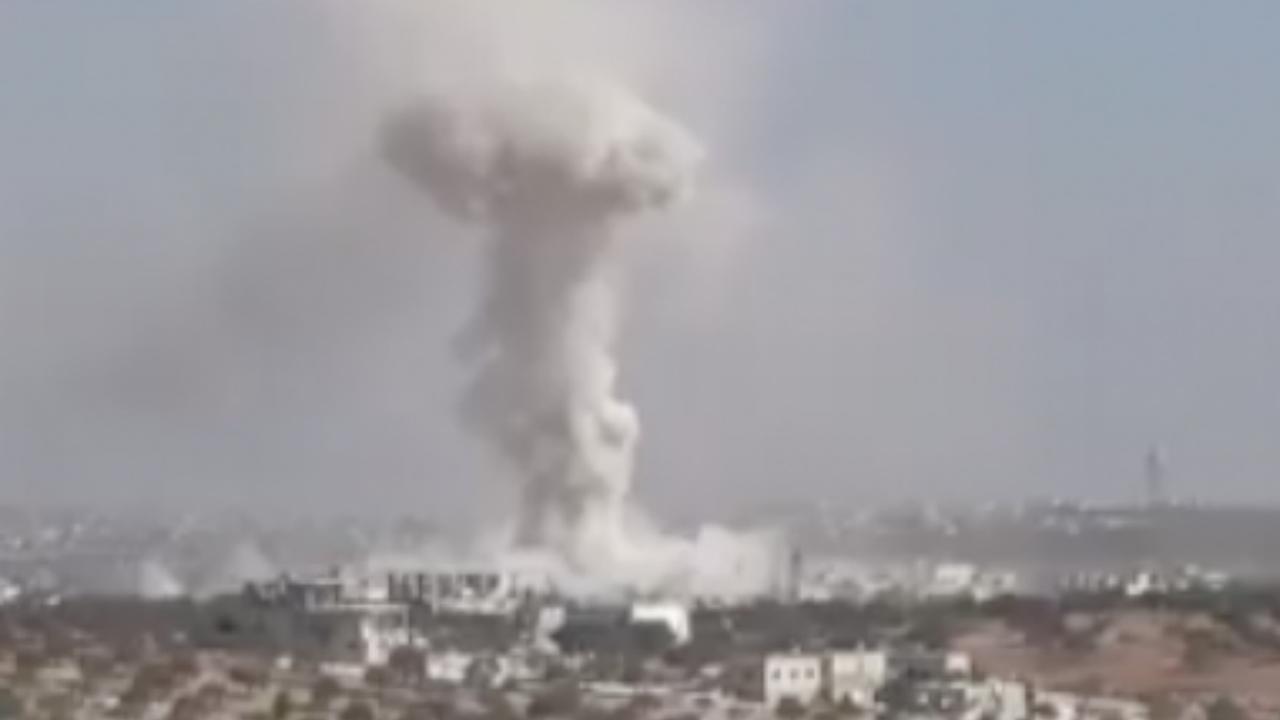 Doden door Syrisch bombardement op school in Idlib